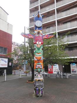 トーテムポール(錦糸町).JPG