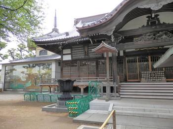 祐天寺(本堂と大絵馬).jpg