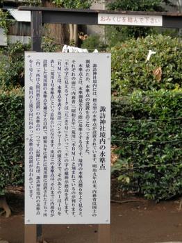 諏訪神社境内の水準点.jpg