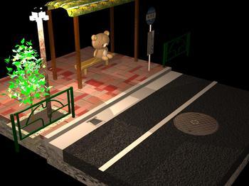 道路(リラックマ)1.jpg