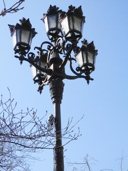 隅田公園(電気燈・セミ).JPG