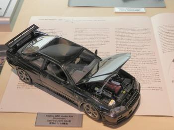GT-R(R34型)1/8模型.jpg